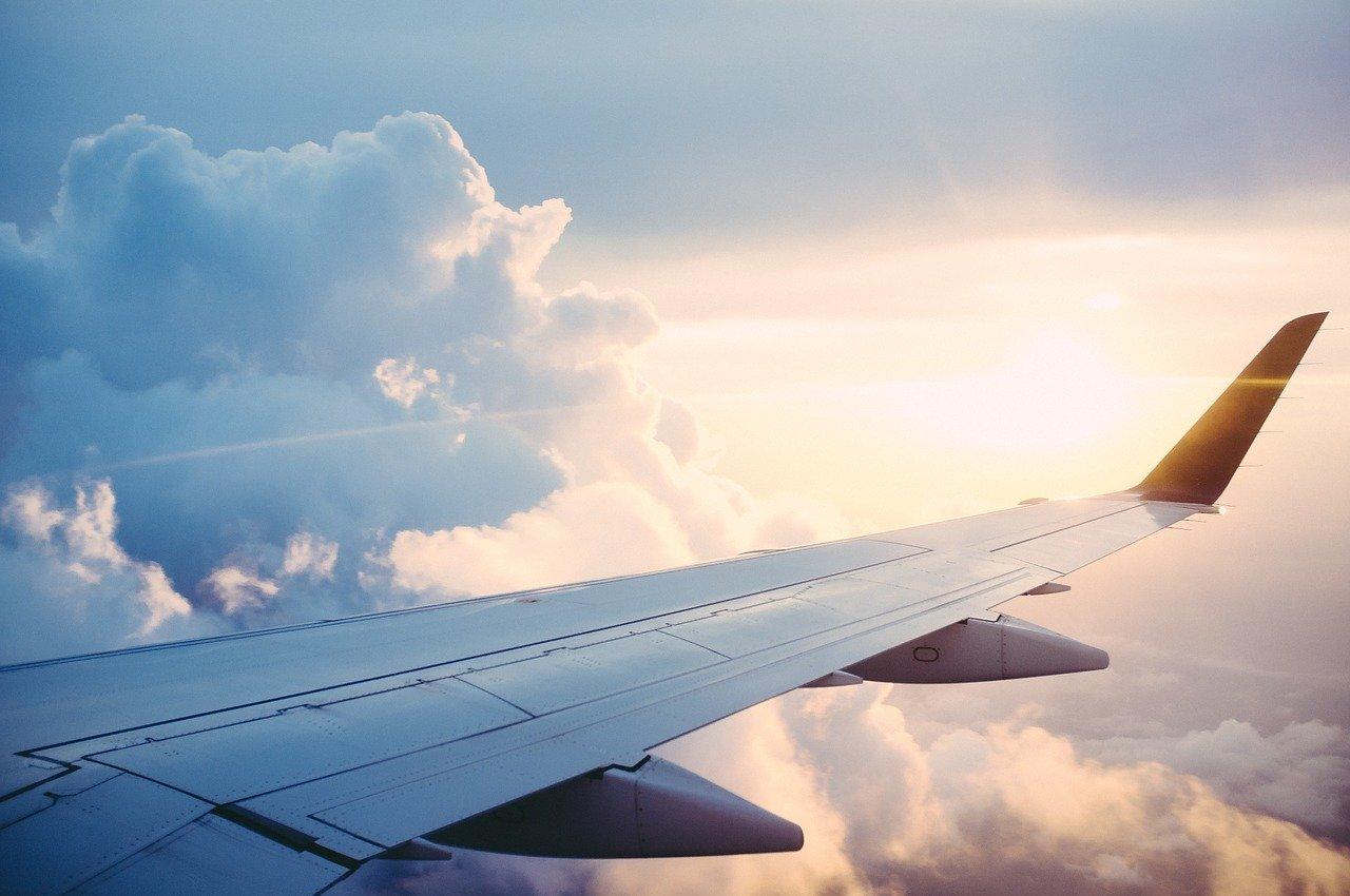 plane, trip, journey